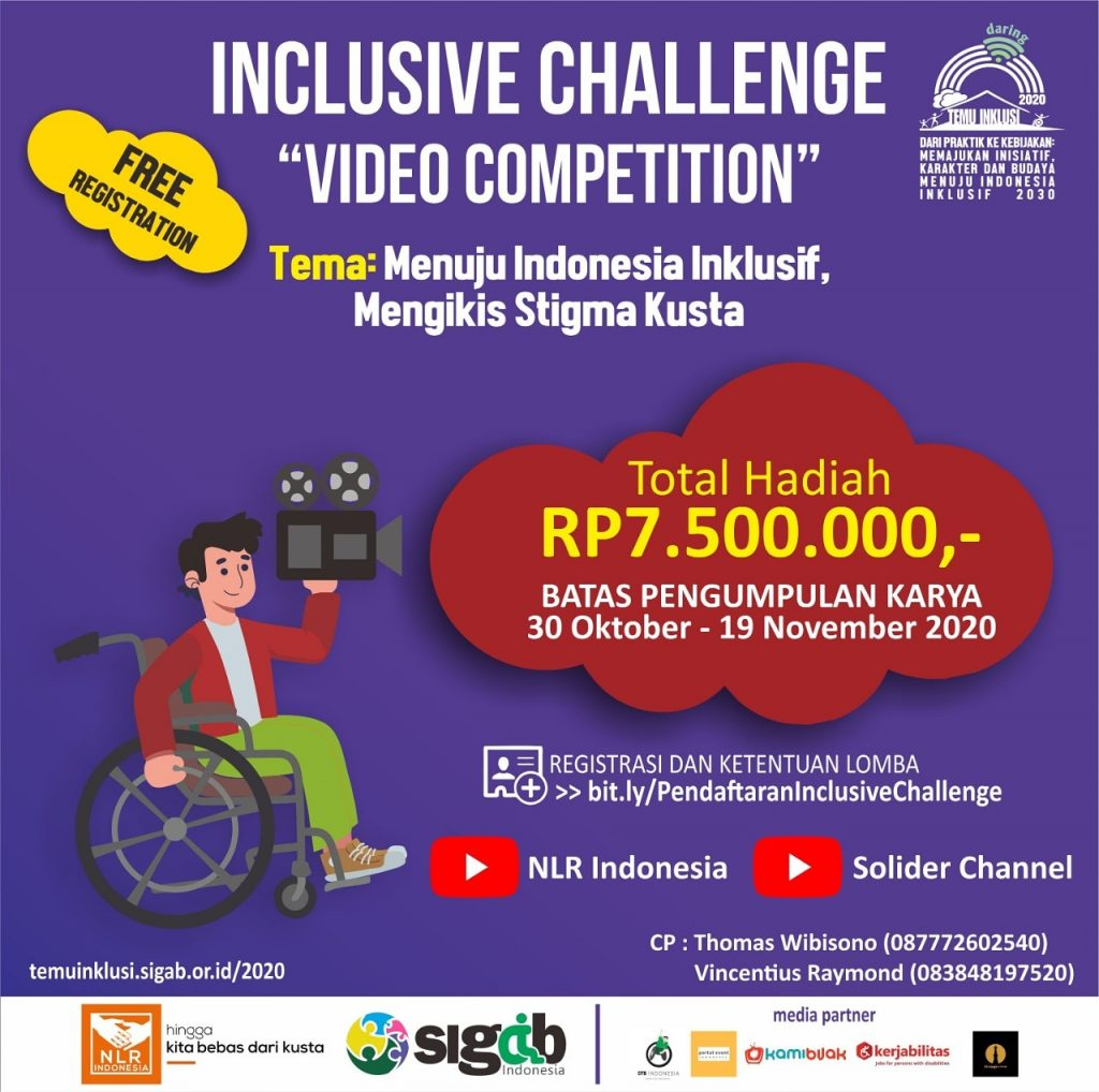 INCLUSIVE CHALLENGE (Kompetisi Video) – Special Events